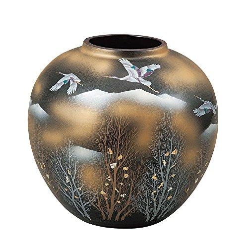 Kutani ware Vase Gold Clouds