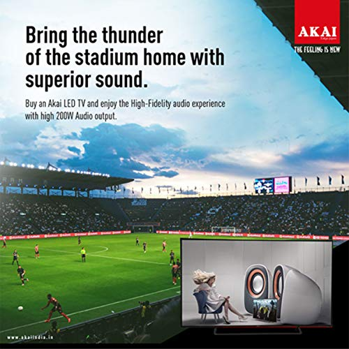 Akai 164 cm (65 Inches) 4K Ultra HD Smart LED TV AKLT65U-DS73K (Black) (2018 Model) 10
