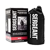 SERGEANT Emergency Sleeping Bag, Extra-Thick, Lightweight, Military Grade. Use as Emergency Bivy Sack, Survival Sleeping Bag, Mylar Emergency Blanket. Perfect for Survival Kits and Go Bags.