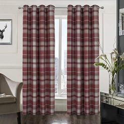 Plaid Tartan Check Curtains