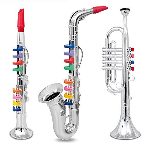Clarinet, Saxophone, Trumpet