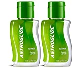 Astroglide Natural Liquid Personal Lubricant Our Natural Formula is Not Made with Glycerin, Parabens, Fragrances, Flavors or Hormones,2.5 Fl Oz (Pack of 2)