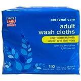Rite Aid Adult Wash Cloths 192ct