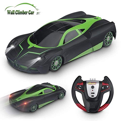 YEZI Rc Cars for Kids,360°Rotating Stunt Dual Mode Climbing Car Rechargeable, Head and Rear with Powerful LED Light,Remote Control Car Boy Toys for 3 4 5 6 7 8-16 Year Old Best Gifts
