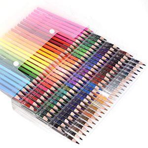 120 Colored Pencils – Premium Soft Core 120 Unique Colors No Duplicates Color Pencil Set for Adult Coloring Books, Artist Drawing, Sketching, Crafting