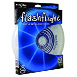 Nite Ize Flashflight LED Flying Disc, Light up the Dark for Night Games, 185g, Blue