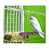 TWEEKY CLEAN tidy Bird Feeder parrot toy toys canary cockatiel finch seed