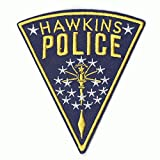 Stranger Things Hawkins Police Badge Netflix Original TV Embroidered Iron On Patch