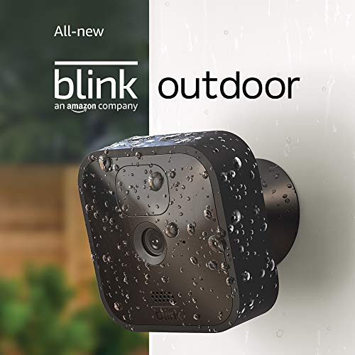 All-new Blink Outdoor – wireless, weather-resistant HD security camera with two-year battery life and motion detection – 3 camera kit