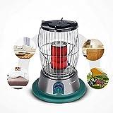 TTIK Propane Radiant Heater Indoor Kerosene Convection Heater,300 × 300 × 382mm,Green