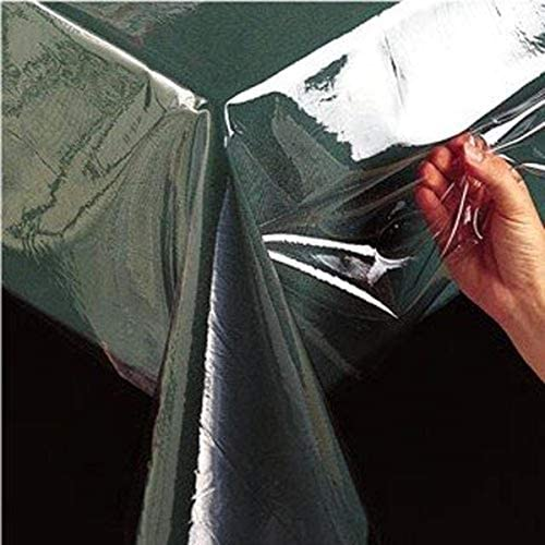 Benson Mills clear Plastic Tablecloth Protector, 60-Inch by 84-Inch