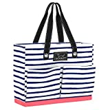 SCOUT UPTOWN GIRL Medium Tote Bag for Women, Lightweight Utility Tote Bag with Pockets and Zippered Closure, Perfect Teacher Tote Bag or Nurse Tote Bag