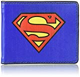 Buckle-Down Wallet Superman Shield Blue/red/yellow Accessory