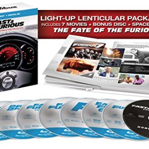 Fast & Furious: The Ultimate Ride Collection [Blu-ray] 1-7 10