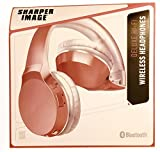 [00020] SHARPER IMAGE Deluxe HI-FI Wireless Headphones (Pink)