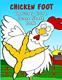 Chicken Foot Dominoes Game Score Sheet Book: 100 double-sided pages of score sheets for Chicken Foot Dominoes