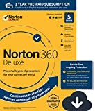 Norton Security Premium – 5 Devices – Amazon Exclusive 15 Month Subscription  - Instant Download - 2019 Ready