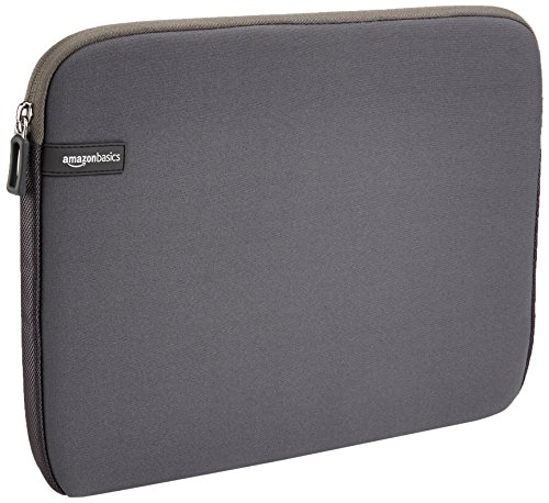 AmazonBasics 13.3 Inch Mabook Laptop Sleeve Case - Grey