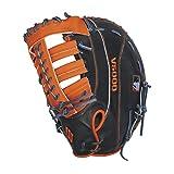 Wilson A2000 MC24 Miguel Cabrera Game Model 1st Base Baseball Glove, Navy/Orange, Left Hand Thrower