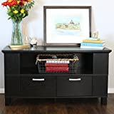 "Product review for Walker Edison 44"" Columbus TV Stand Console, Black"