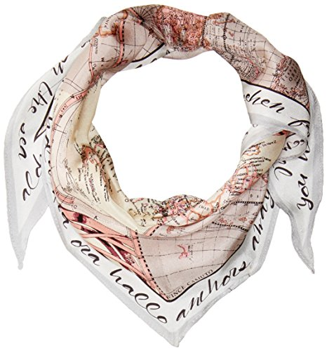 Beautiful silk map kite is easy to tie around the neck Perfect way to simply elevate your outfit Great for the girl who loves to travel