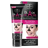 Blackhead Remover Black Mask Deep Cleansing Peel-off Mask for Blackheads Remove,Tearing Style Deep Cleansing Purifying - Activated Charcoal,  50gram