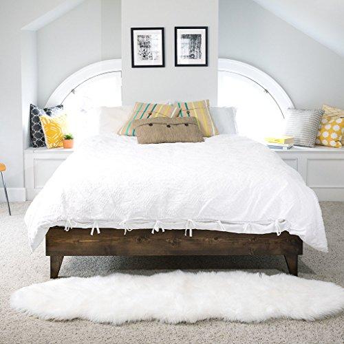 Cardinal & Crest Wood Platform Bed Frame | King Size | Modern Wooden ...