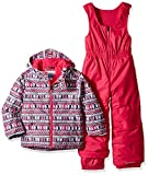 Columbia Kids & Baby Toddler Kids Frosty Slope Set, Rosewater Zigzag Print, 3T