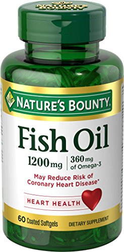 Nature's Bounty Fish Oil 1200 mg Omega-3