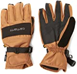 Carhartt Men's W.B. Waterproof Windproof Insulated Work Glove, Brown/Black, XX-Large