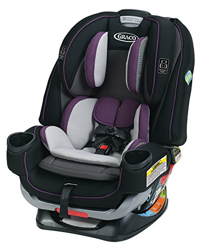 Gracobaby 4Ever Extend2Fit 4-in-1 Convertible Car Seat, Jodie, One Size