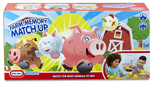 Little Tikes 3D Farm Memory Match up Board Games Combination Table Games (645143)