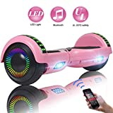 FLYING-ANT Hoverboard UL 2272 Certified 6.5' Two-Wheel Self Balancing Electric Scooter with LED Light Flash...
