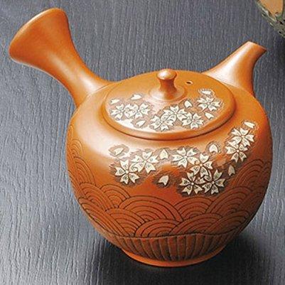 Japanese ceramic Tokoname ware. Kyusu teapot. 200cc