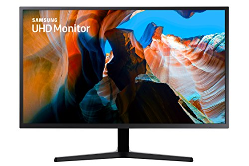 Samsung Electronics LU32J590UQNXZA 32-Inch 4K UHD Monitor, Dark Blue Gray