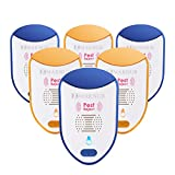 MARNUR Ultrasonic Electronic P-e-s-t Re-peller Night Light (6 Pack) Good for Family