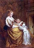 "Jacob Henricus Maris Motherly Love - 18"" x 27"" Premium Canvas Print"