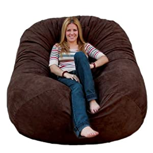 Image result for Cozy Sack 6-Feet Bean Bag Chair, Large