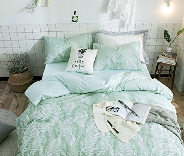 Doldoa Duvet Cover Set100 Nature Cotton Bedding Down Comforter Cover Set3