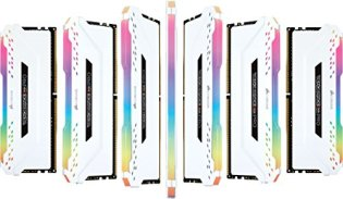 CORSAIR-VENGEANCE-RGB-PRO-32GB-4x8GB-DDR4-3200MHz-C16-LED-Desktop-Memory-White