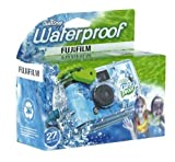 Fujifilm Disposable QuickSnap Waterproof Pool Underwater 35mm Camera, Pack of 2