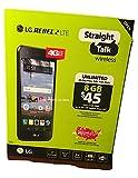 Straight Talk LG Rebel 2 8GB 5' Screen Prepaid Smartphone, Black