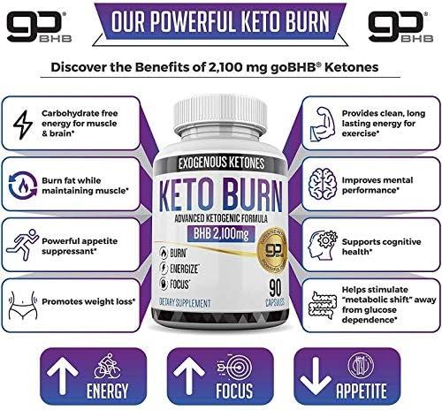 Keto Pills - 3X Dose (2100mg | 90 Capsules) Advanced Keto Burn Diet Pills - Best Exogenous Ketones BHB Supplement - Max Strength Formula 8