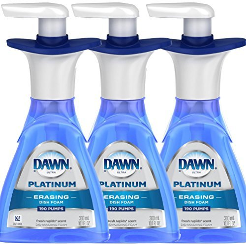 Dawn Platinum ERASING Dishfoam 10.1oz (Pack of 3)