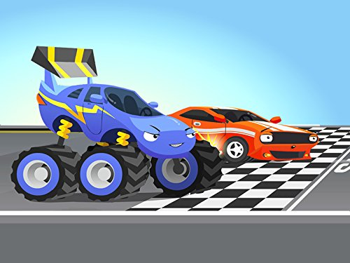 The Monster Truck and Tow Truck Hook