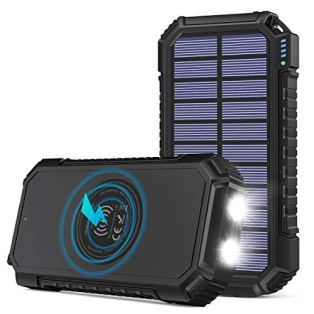 Solar-Power-Bank-26800mAh-Riapow-Wireless-Portable-Charger-Fast-Charge-30A-Solar-Charger-External-Battery-with-4-Outputs-LED-Flashlight-Phone-Chargers-for-Phone-Tablet-and-Camping-Outdoors