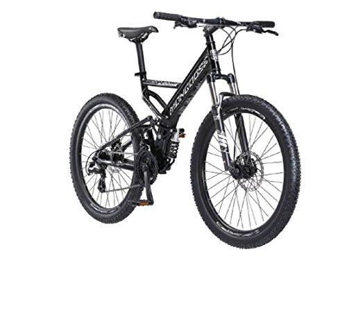 26' Mongoose Blackcomb Mountain Bike, Black