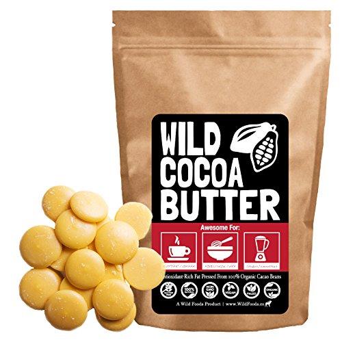 Raw Organic Food Grade Cocoa Butter Benefits