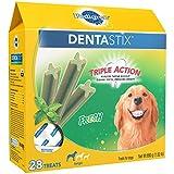 PEDIGREE DENTASTIX Large Dental Dog Treats Fresh, 1.52 lb. Pack (28 Treats)