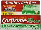 Cortizone-10 Plus Maximum Strength Hydrocortisone Anti-Itch Creme Plus...